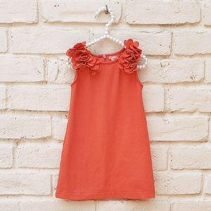 Girls 2T Orange Sleeveless Dress